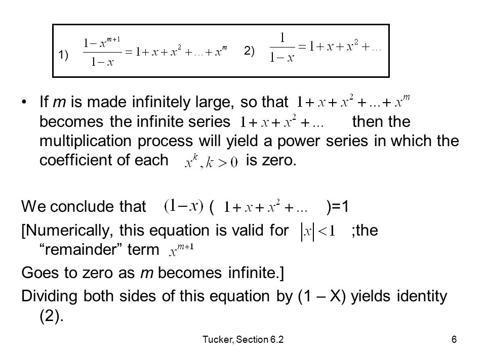 [Numerically, this equation is valid for ;the remainder term